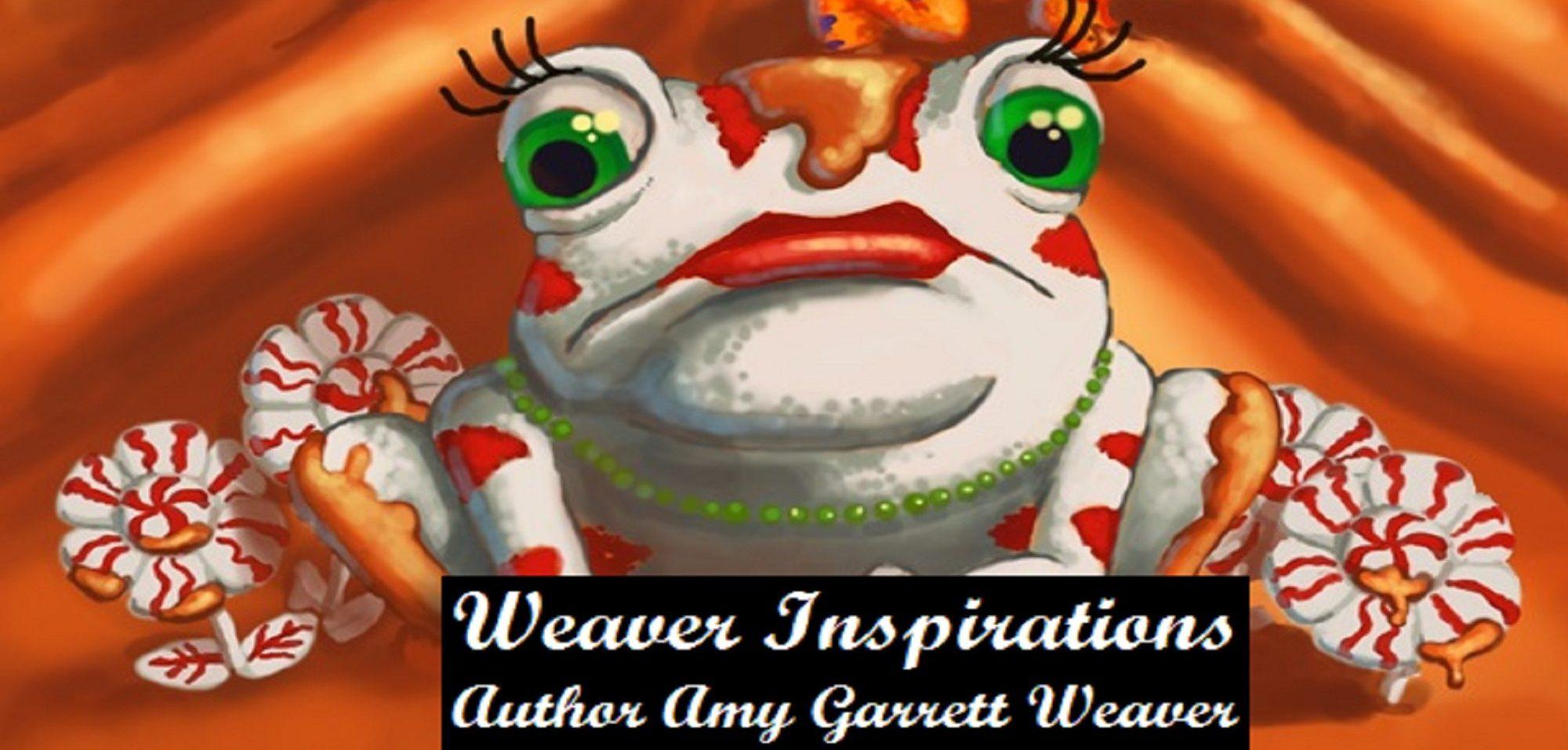 Weaver Inspirations - Author Amy Garrett Weaver
